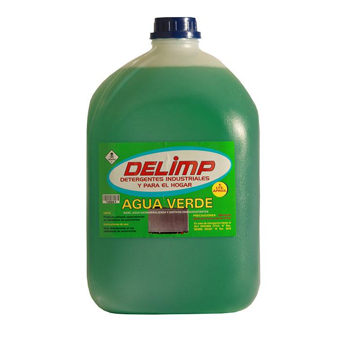 Agua verde 5 litros