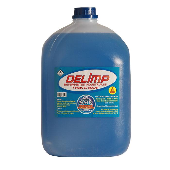 Detergente gel matic económico 5 litros
