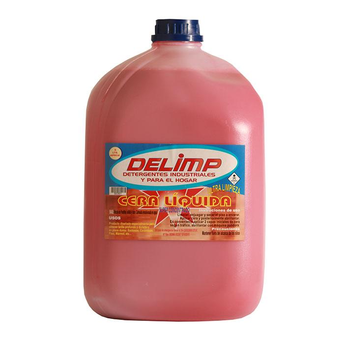 Cera líquida ultra limpieza 5 litros